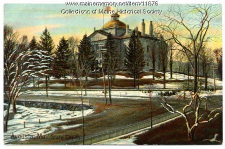 State capitol, Augusta, ca. 1910