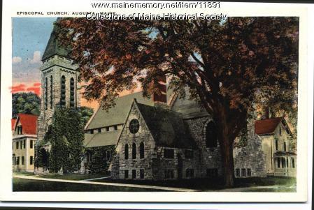 St. Mark's Episcopal Church, Augusta, ca. 1900