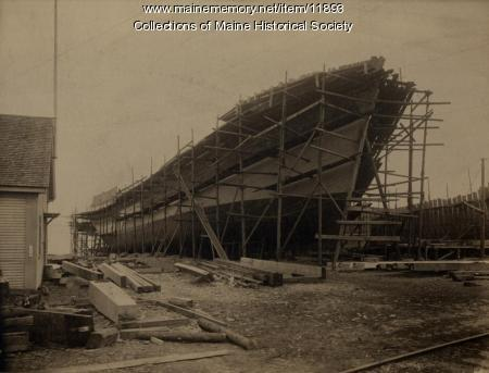 Steamer Ripogenus, Rockland, 1917