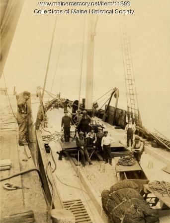 Trawler East Hampton, Portland, ca. 1913