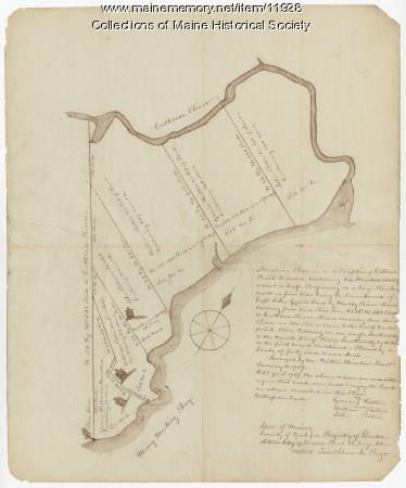 Fulton and Patten lots in Bowdoinham, 1759