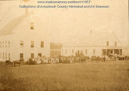 Houlton Grange dedication, 1904
