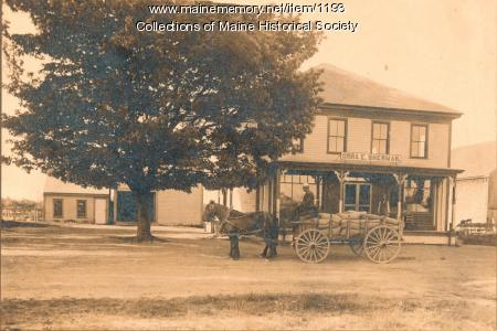 Sherman's Store, Scarborough, ca. 1907