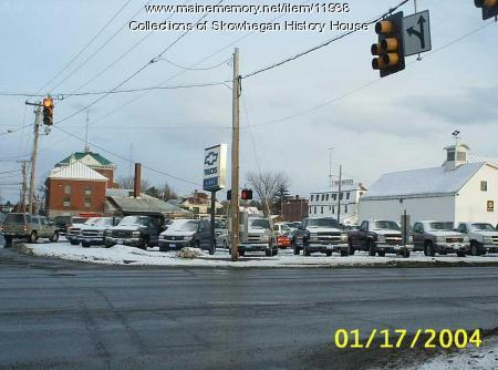 Corner of Madison Avenue and High Street, Skowhegan, Maine