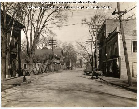 Deering Avenue, Portland, 1917