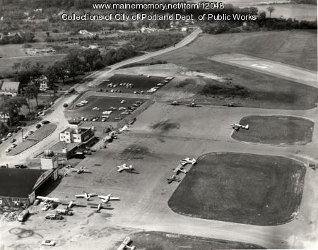 Portland Airport, 1957