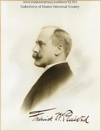 Governor Frederick W. Plaisted, Augusta, ca. 1913