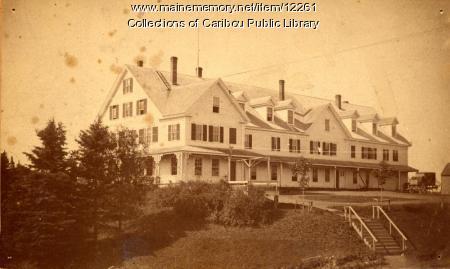 Vaughan House, Caribou, 1890