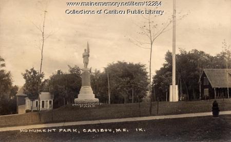 Monument Park, Caribou, ca. 1920
