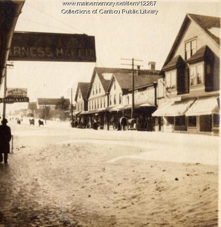Sweden Street, Caribou, ca. 1890