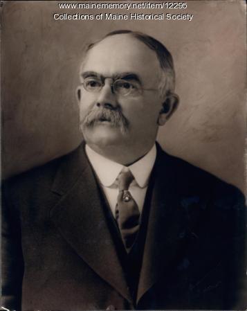 Willis T. Emmons, Saco, ca. 1900