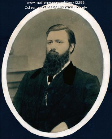 Dr. Edward W. Anderson, Portland, ca. 1860