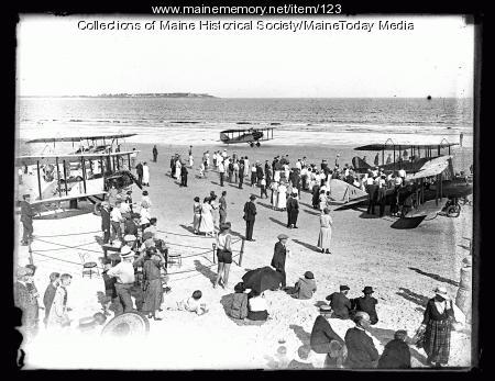 Maine Air Show, Old Orchard Beach, 1923