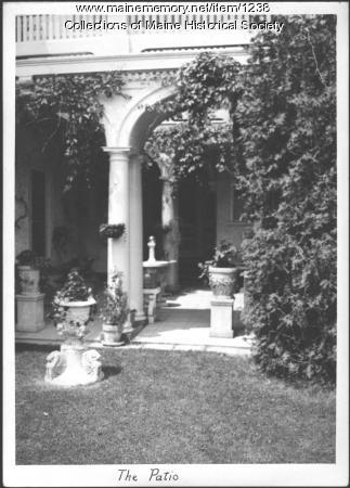 Nevin home, Blue Hill, 1933