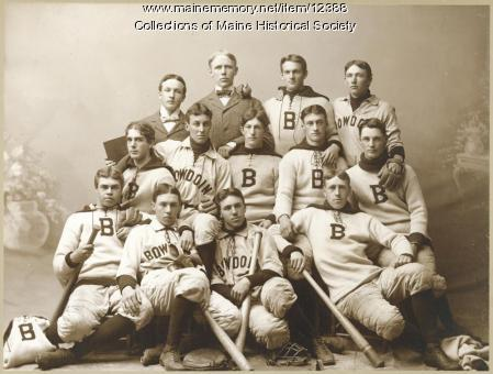 Bowdoin College baseball team, c. 1896