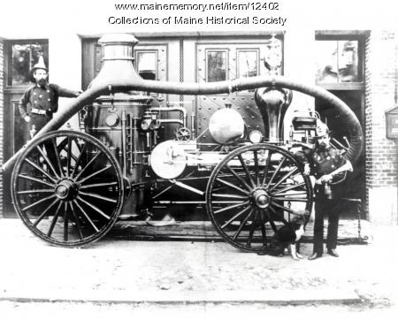 Cumberland No. 3 Steam Engine, Portland, 1870