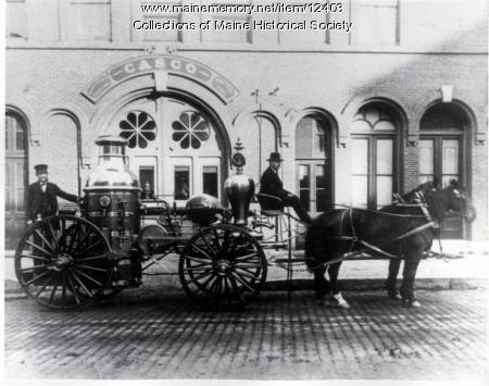 Portland Company Steam Fire Engine, 1869