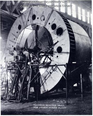 Neutron reactor shell, Portland Company