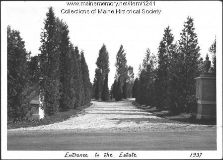 Estate, Ethelbert Nevin, Blue Hill, 1937