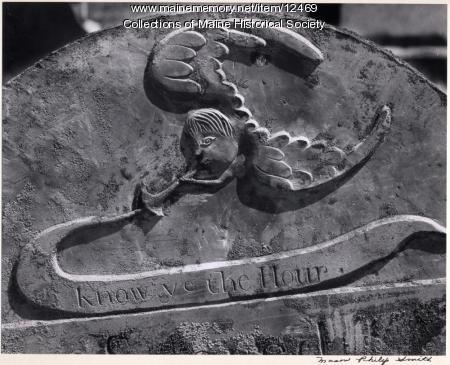 Deacon Samuel Ford headstone, Woolwich, 1787