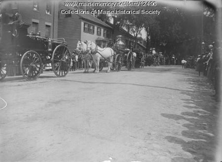 Old Home Day Parade, Portland, 1902