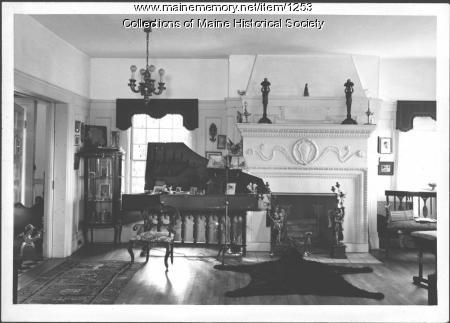Italian piano, Nevin estate, Blue Hill, 1937