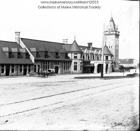 Union Station, Portland, ca. 1900