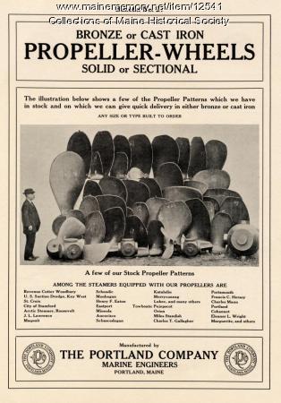 Portland Company Bulletin No. 27, ca. 1900