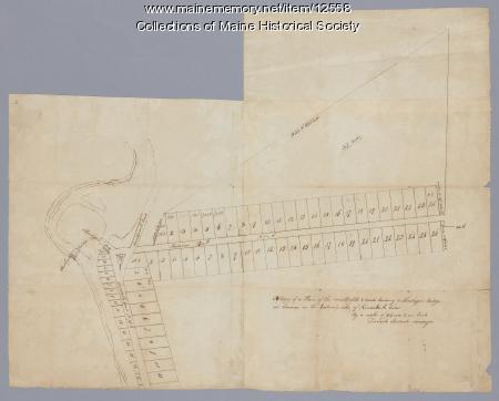 Skowhegan Falls, ca. 1800