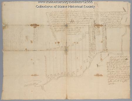 Sheepscot River lots, 1759