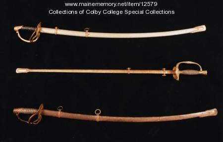 Civil War swords, ca. 1860