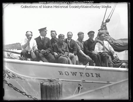 Capt. MacMillan, Schooner Bowdoin, 1925