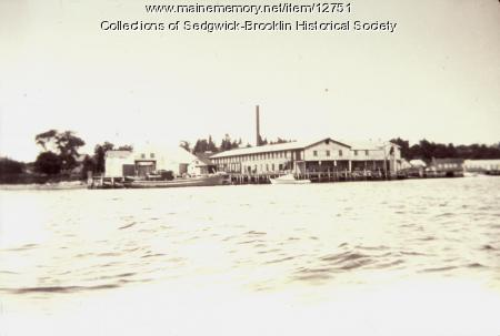Sardine Cannery, Brooklin