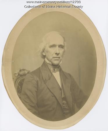 Reverend William T. Dwight, Portland, ca. 1850