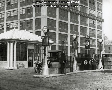 Ker & Kevsey Gas Station, Forest Avenue, Portland, 1926