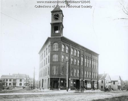 Odd Fellow's Block, Portland, ca. 1900