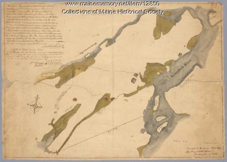 Tract of land belonging to Sylvester Gardiner, Bath, 1764