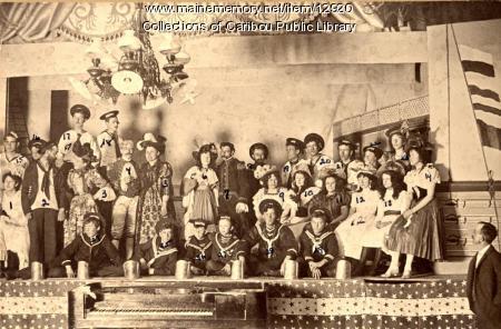 Caribou Amateur Opera Company, 1898