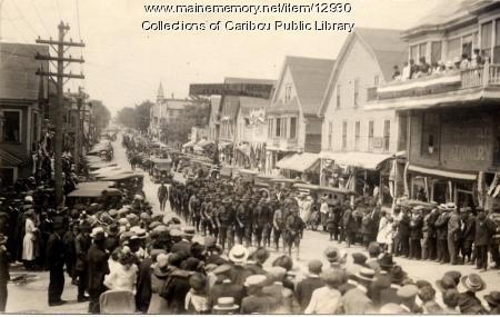 Celebration at Caribou, 1919