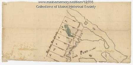 Ten lots near Sebasticook River, ca. 1760