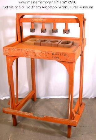Aroostook Potato Seed Cutter, Littleton, c. 1920