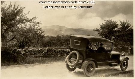 Touring by Stanley Steam Car, ca. 1919