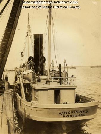 Fishing trawler 'Kingfisher,' ca. 1917