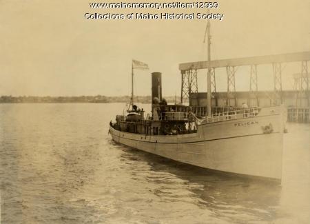 The Pelican, Portland Company, ca. 1920
