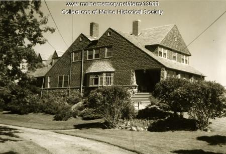 Brown-Donahue House, Cape Elizabeth, 1962