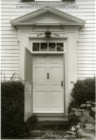 Doorway, McCobb-Hill-Minott House, Phippsburg, 1962