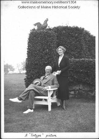 The Gibsons, Isleboro, 1937