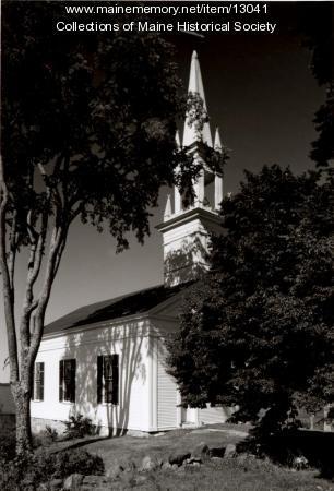 Phippsburg Congregational Church, 1962