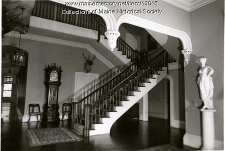 Stairwell, Oaklands, Gardiner, 1962