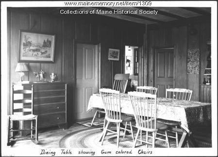 Gladys Hasty Carroll home, South Berwick, 1937